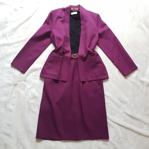 Vintage Purple 3pc Suit